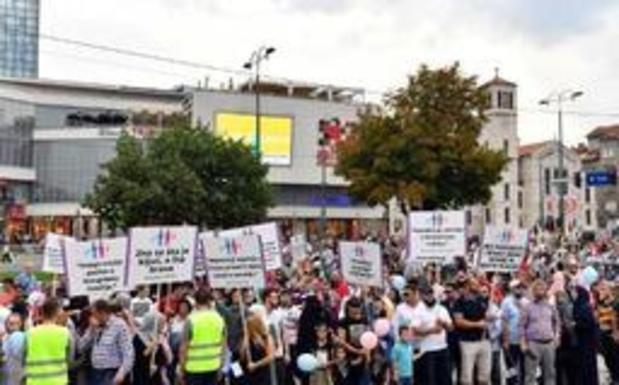 Eerste Pride parade ooit in Bosnië