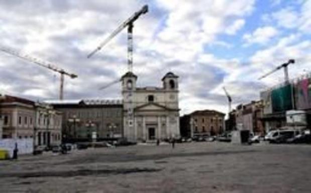 Tien jaar na aardbeving is Italiaanse stad L'Aquila nog niet volledig heropgebouwd