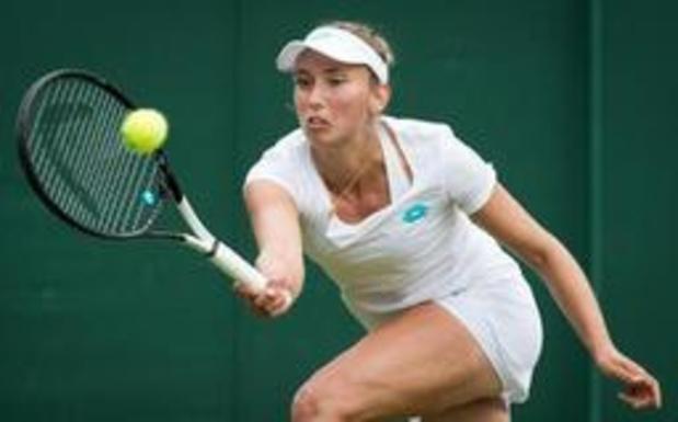 Elise Mertens rejoint Elina Svitolina au 2e tour