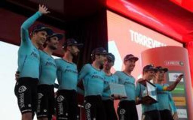 """Tour d'Espagne - Miguel Angel Lopez: """"Profiter du travail effectué"""""""