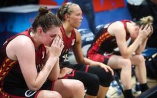 """EK basket (v) - Match tegen Hongarije is """"belangrijkste in geschiedenis Belgisch basketbal"""""""