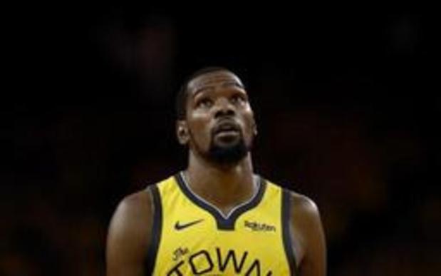 NBA - Golden State toujours privé de Durant pour le match N.3, Thompson incertain