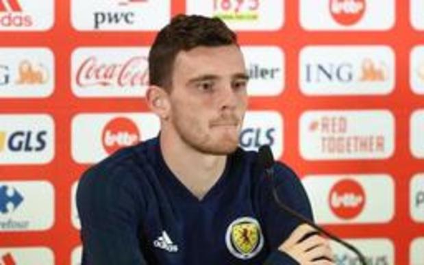 Rode Duivels - Andrew Robertson wil Schotland opnieuw op de voetbalkaart zetten