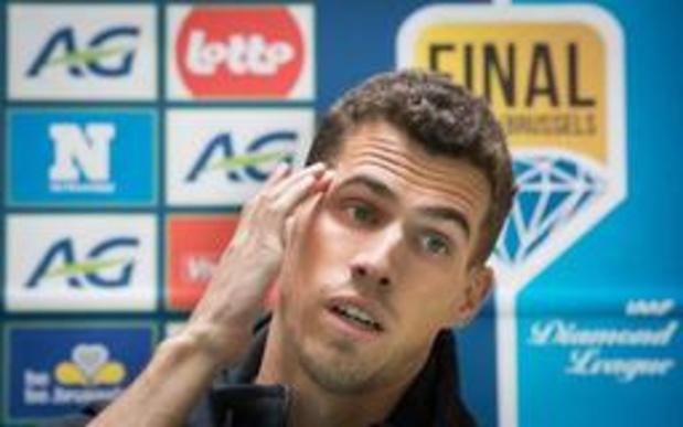 Jonathan Borlée maakt slechte indruk in Madrid, WK lijkt heel veraf