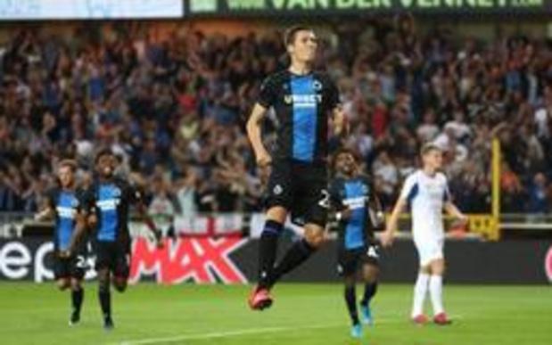 Champions League - Club Brugge wint met kleinste verschil van Dinamo Kiev bij debuut Mignolet
