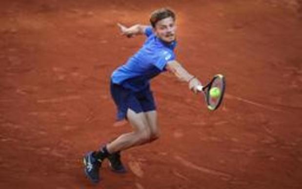 Roland-Garros - Goffin houdt ondanks nederlaag goed gevoel over aan viersetter tegen Nadal
