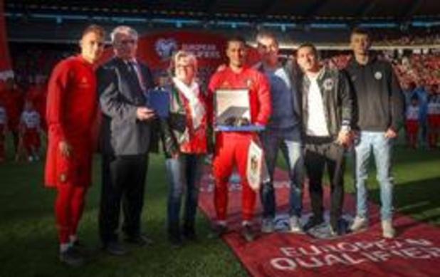 Diables Rouges - Eden Hazard célébré pour ses 100 matchs en équipe nationale