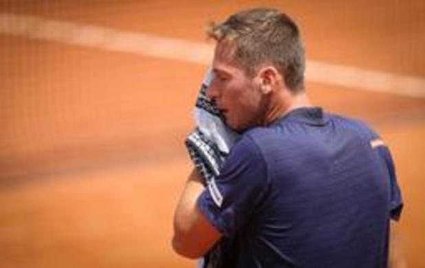 Kimmer Coppejans éliminé au premier tour à Roland-Garros