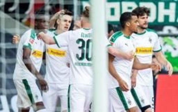Belgen in het buitenland - Borussia Mönchengladbach pakt belangrijke punten