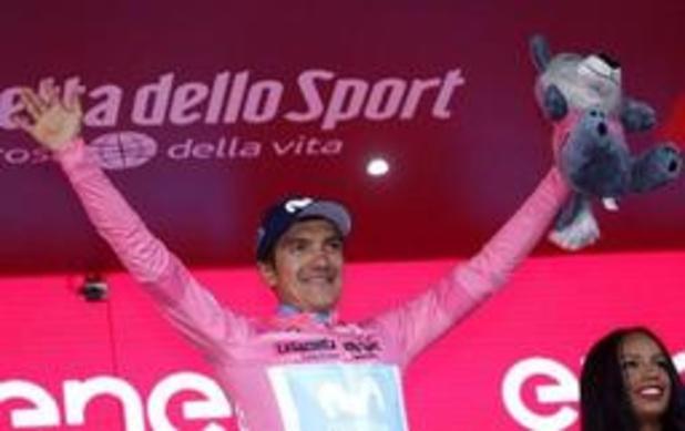 """""""Nibali est le rival le plus dangereux"""", pense le maillot rose Carapaz avant l'étape reine"""