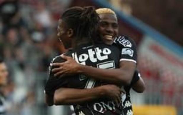 Jupiler Pro League - KV Oostende en Charleroi houden elkaar in evenwicht