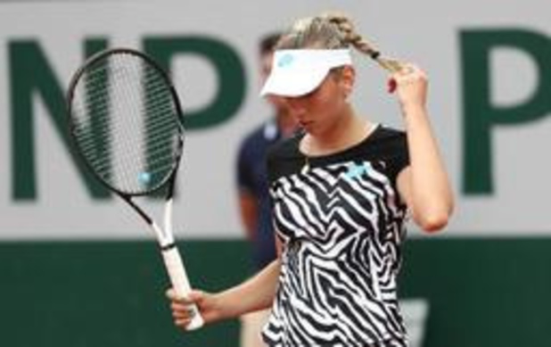 """Elise Mertens na overwinning tegen Vondrousova: """"Ik voel me steeds beter op gras"""""""