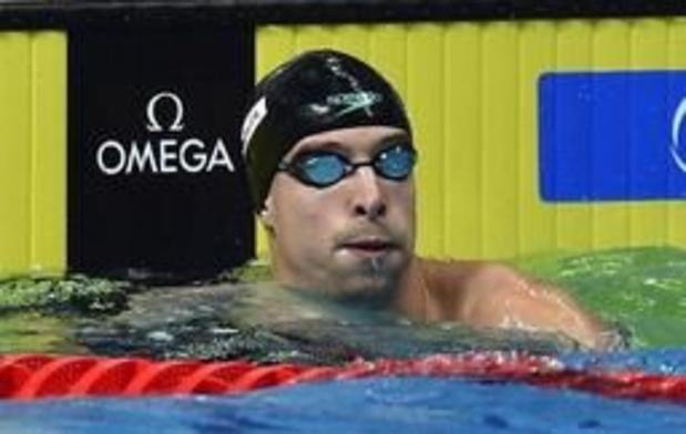 Onze Belges iront en Corée du Sud pour les Mondiaux de natation