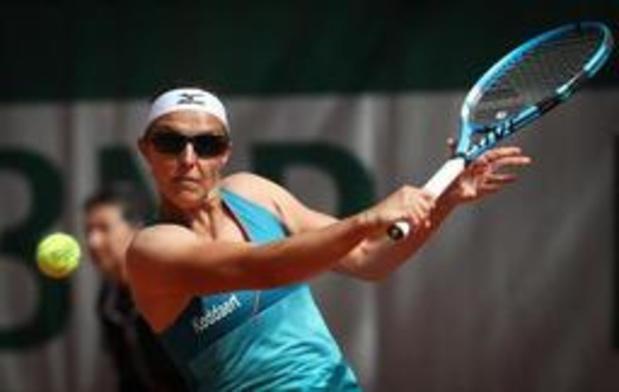 Kirsten Flipkens en finale du double à Eastbourne
