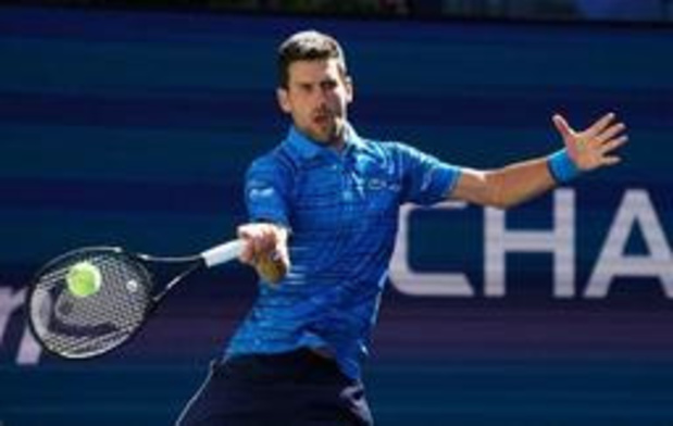 US Open - Titelverdediger Novak Djokovic eenvoudig door