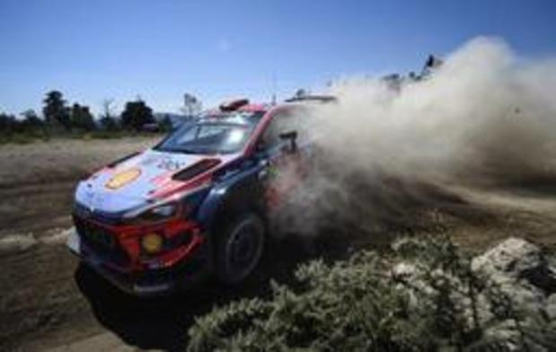 Rally van Portugal - Thierry Neuville staat na tweede dag op plaats drie