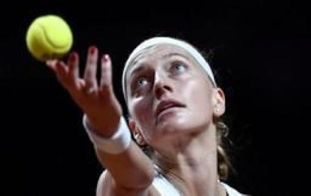WTA Madrid - Petra Kvitova, tenante du titre, en quarts de finale
