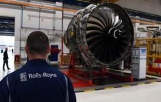 Rolls-Royce subit une perte nette de 5,4 milliards de livres