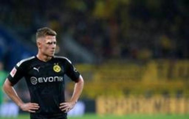 Diables Rouges - Thorgan Hazard (Dortmund) sur la touche pour quelques semaines