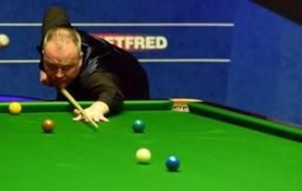 WK snooker - John Higgins zet jacht op vijfde wereldtitel voort
