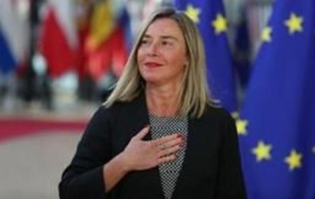 L'UE met en garde Washington en cas de sanctions contre les intérêts européens à Cuba