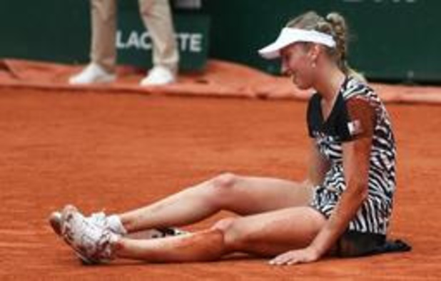 Elise Mertens éliminée à Roland-Garros au terme d'un marathon face à Anastasija Sevastova