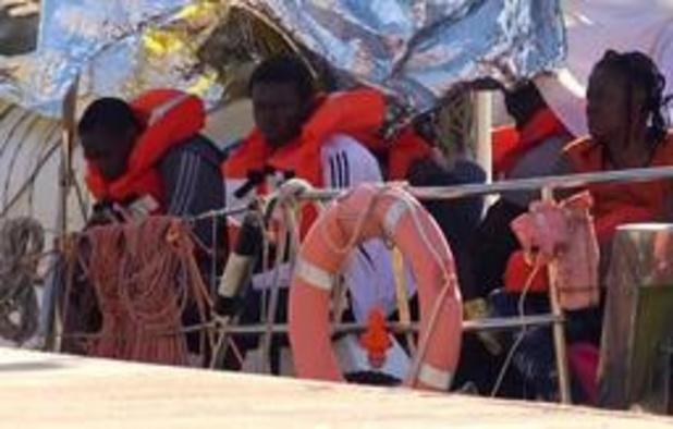 Europees akkoord om 131 migranten van Gregoretti op te vangen