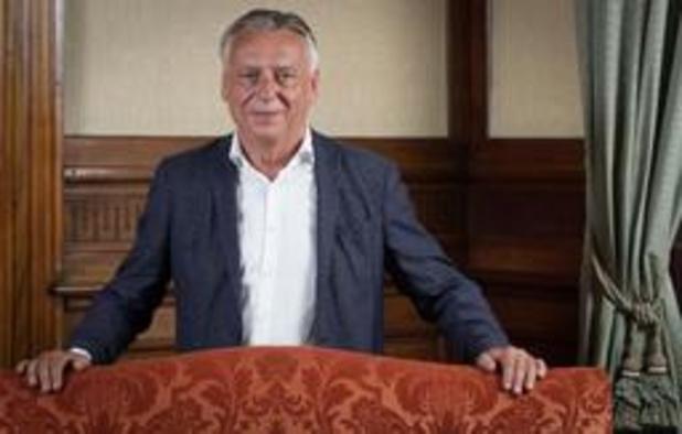 Patrick Dewael élu président (temporaire) de la Chambre