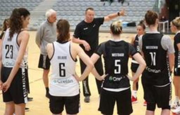 """EK basket (v) - Philip Mestdagh, coach van de Belgian Cats, wil de woorden """"Olympische Spelen"""" niet horen"""