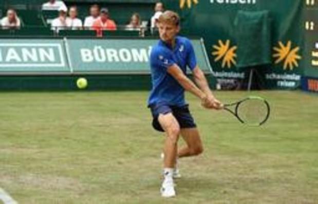 Goffin verovert scalp van 's werelds nummer vijf Zverev op ATP Halle
