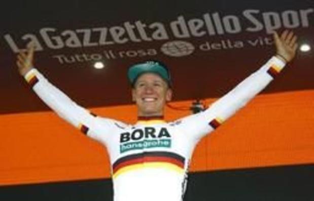 Tour d'Italie - Pascal Ackermann enlève la 1e étape en ligne de son premier grand tour