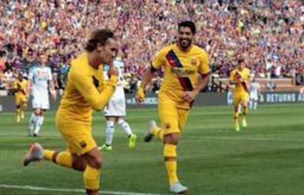Belgen in het buitenland - Mertens (Napoli) verliest opnieuw tegen Barcelona, Belgen spelen gelijk in MLS