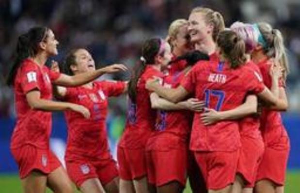 Mondial féminin - 13-0: les Américaines explosent le record de buts d'entrée