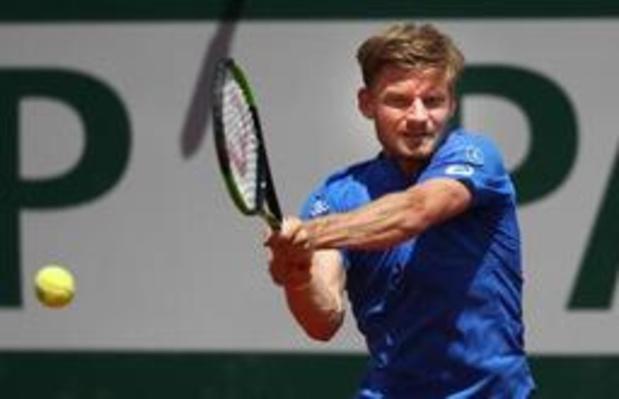 David Goffin geraakt niet voorbij kwartfinales in Rosmalen
