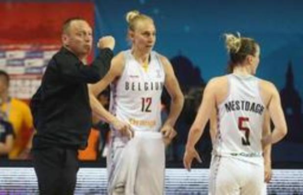 """EK basket (v) - Philip Mestdagh: """"Details hebben over de wedstrijd beslist"""""""