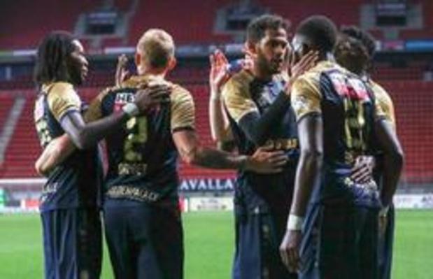 Europa League - Barrages aller: Gand sauvé par un doublé de Depoitre (2-1), l'Antwerp partage à l'AZ