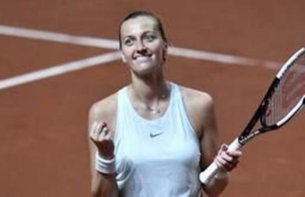 WTA Stuttgart - Kvitova voorbij Bertens naar finale