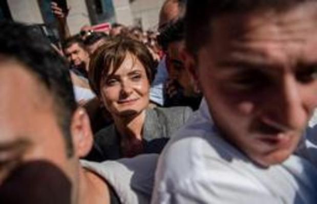 Turks oppositieleidster krijgt tien jaar cel