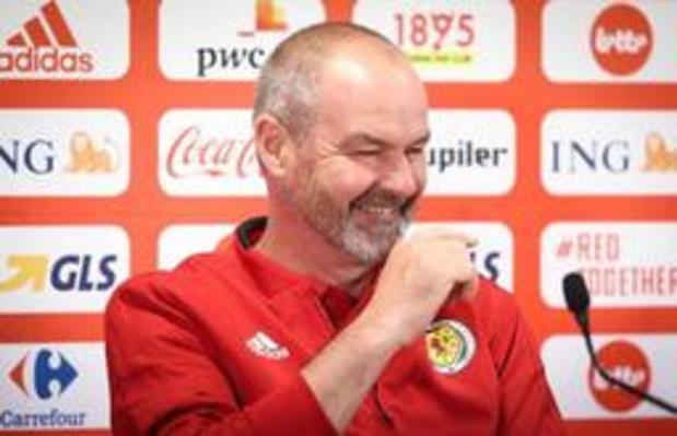 Rode Duivels - Schotse bondscoach hoopt op perfecte prestatie