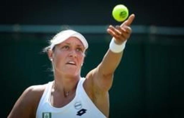 Yanina Wickmayer bereikt tweede ronde