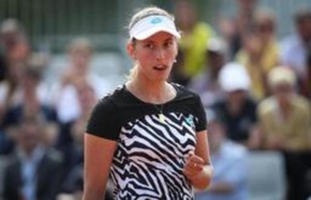 Elise Mertens voorbij Zidansek naar tweede ronde