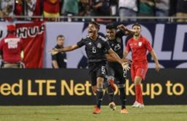Gold Cup - Mexico wint van VS in finale Gold Cup