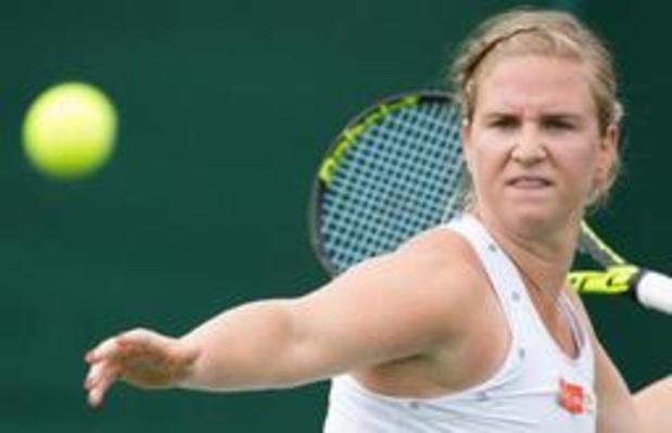 Ysaline Bonaventure éliminée au 1er tour des qualifications de l'US Open
