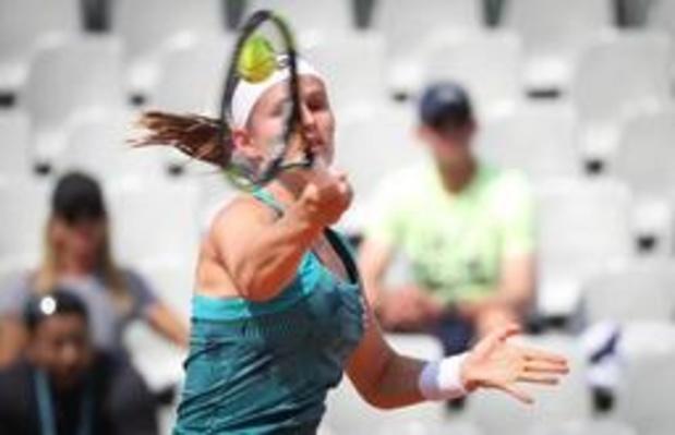 WTA Majorque: Ysaline Bonaventure passe le premier tour des qualifications