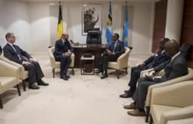 Genocide Rwanda - Michel bespreekt toekomst van Afrikaans-Europese relaties met president Kagame