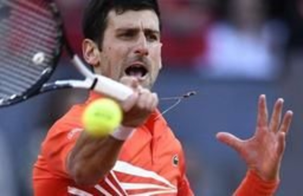 ATP Madrid - Djokovic pakt de titel in Madrid