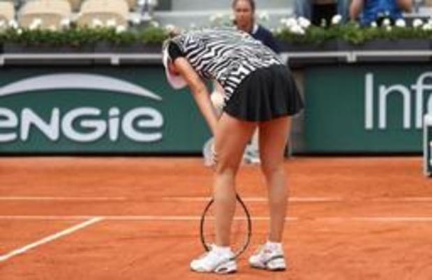 Elise Mertens éliminée à son tour, pas de Belge en finale du double dames à Paris