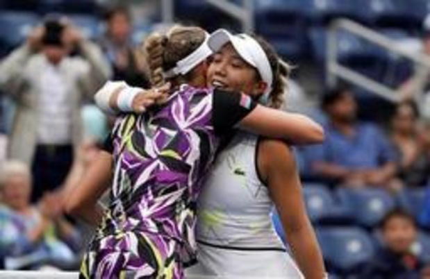 """US Open - """"Elise Mertens heeft zeer intelligent gespeeld"""""""