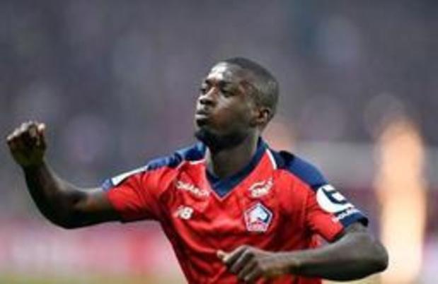 Nicolas Pépé (Lille) signe à Arsenal