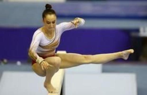Nina Derwael pour la première fois en compétition en Belgique depuis son titre mondial
